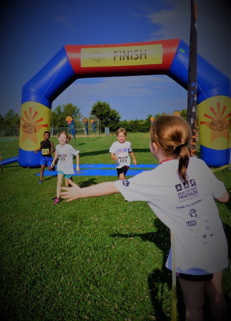 2017 YMCA Healthy Kids Triathlon was a FABULOUS SUCCESS!