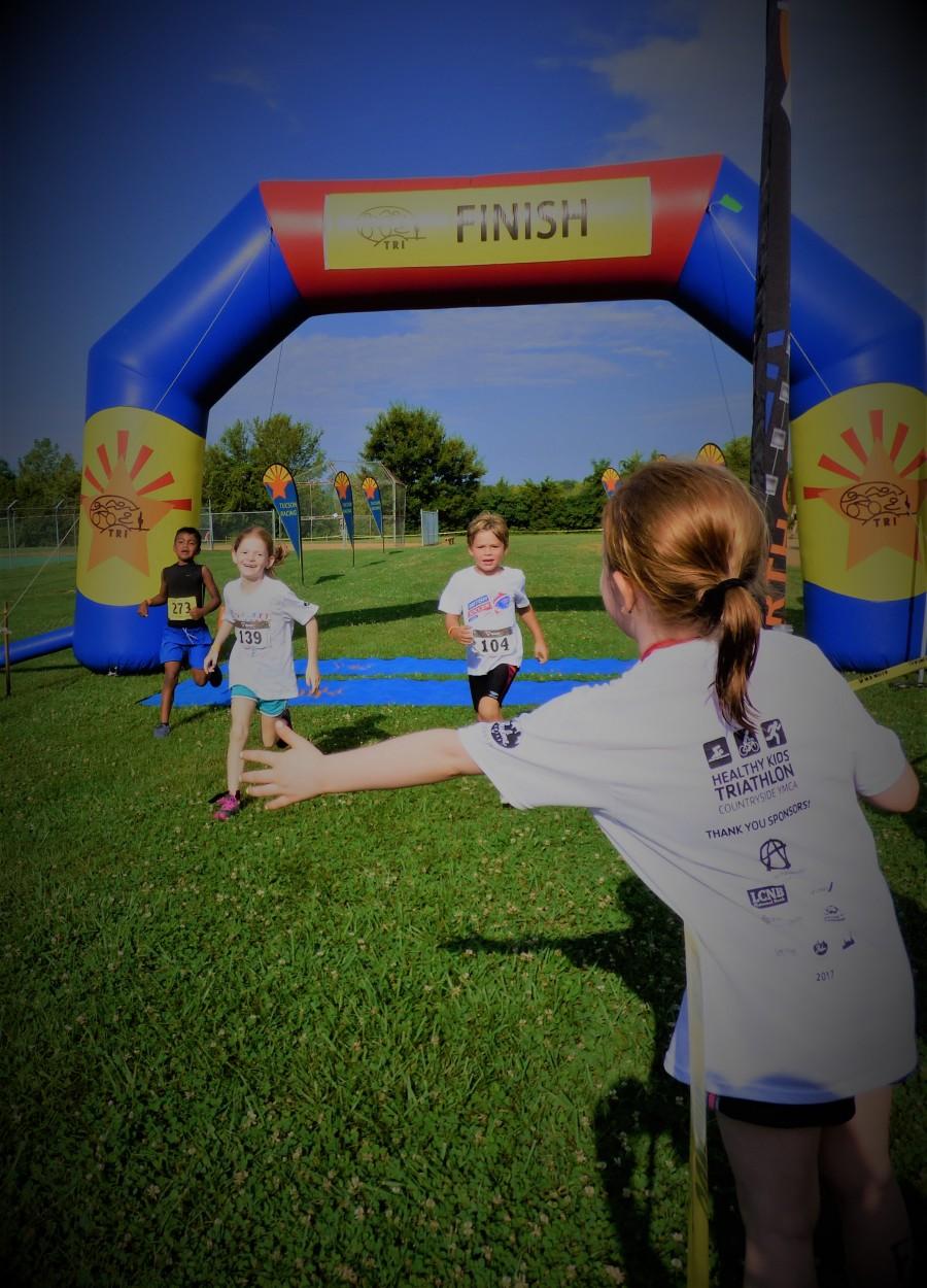 2017 YMCA Healthy Kids Triathlon was a FABULOUS SUCCESS!